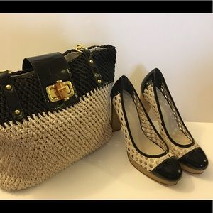 Cole Haan Shoes And Purse
